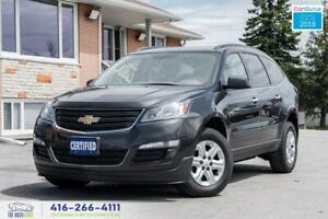 2015 Chevrolet Traverse 7SEAT 1 OWNER NO ACCIDENT WARRANTY CERTI