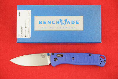 BENCHMADE 535 BUGOUT CPM-S30V AXIS LOCK BLUE HANDLE KNIFE, NEW IN BOX