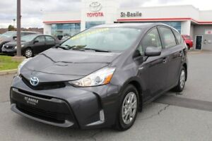 2016 Toyota Prius v GROUPE LUXE CUIR SIEGES CHAUFFANTS CAMERA RE