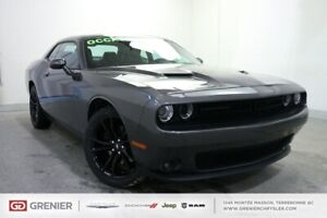 2018 Dodge Challenger BLACK TOP+CUIR+TOIT+APPLE CAR PLAY BLACK T