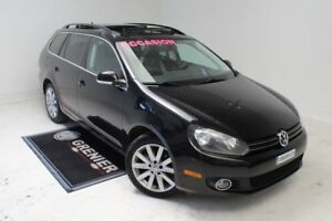 2012 Volkswagen Golf wagon HIGHLINE+BAS KM+TDI+TOIT