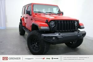 2018 Jeep Wrangler SAHARA+LIFTED+JL+35'' OFF ROAD SAHARA+LIFTED+