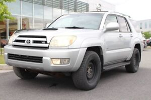 2004 Toyota 4Runner SR5+MAGS+AWD+CRUISE+4 PNEUS D'HIVER SR5+MAGS