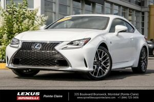 2015 Lexus RC 350 FSPORT SERIES 2 SOUGHT AFTER VEHICLE - FULLY E