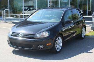 2012 Volkswagen Golf 2.5L*HIGHLINE*BLUETOOTH*AC*CRUISE*CUIR*TOIT