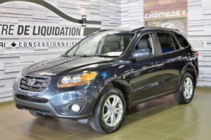 2011 Hyundai Santa Fe LIMITED AWD+TOIT+CUIR+NAVIGATION