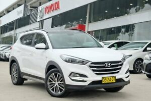2017 Hyundai Tucson TL MY17 Active X 2WD White 6 Speed Sports Automatic Wagon Castle Hill The Hills District Preview