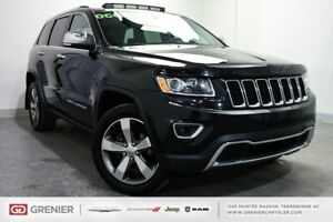 2016 Jeep Grand Cherokee Limited+CUIR+TOIT OUVRANT Limited+CUIR+
