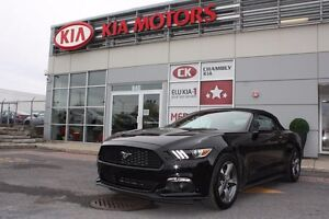 2016 Ford Mustang convertible 3.7L V6, Auto, CONVERTIBLE, bas km