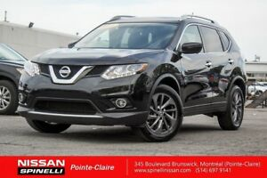 2016 Nissan Rogue SL NAVIGATION/LEATHER/PANORAMIC SUNROOF