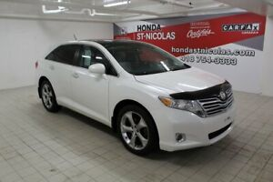 2010 Toyota Venza LIMITED V6 + CUIR + TOIT + GPS + JBL