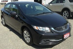 2014 Honda Civic Sedan DX MANUAL TRANSMISSION SPORTY AND ECONOMI