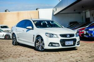 2015 Holden Commodore VF MY15 SS Storm White 6 Speed Sports Automatic Sedan