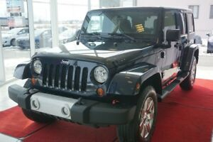 2013 Jeep WRANGLER UNLIMITED SAHARA SAHARA-ENSEMBLE 2 TOIT-4X4-U