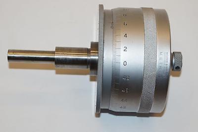 Nos Moore Wright 0-25mm Range 3 Dia. Micrometer Head 0.01mm Grad. England