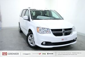 2016 Dodge Grand Caravan CREW PLUS+CUIR+NAV+CHAUFFANTS CREW PLUS