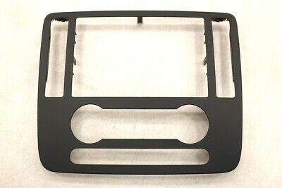 NEW OEM Ford Radio Cluster Trim Panel Black 3F2Z-1704302-BAA Freestar 2004-2007 Double Base Instrument