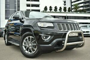 2013 Jeep Grand Cherokee WK Laredo Wagon 5dr Spts Auto 8sp 4x2 3.6i [MY14] Black Sports Automatic