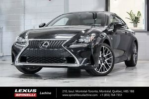 2015 Lexus RC 350 F SPORT II AWD; AUDIO TOIT GPS SOUGHT AFTER VE