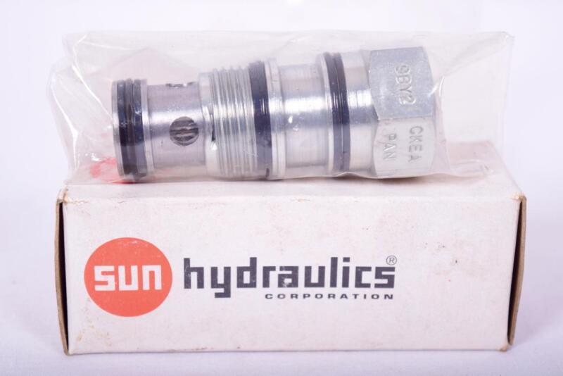 Sun Hydraulics Pressure Relief Cartridge Valve 9BY2 CPEB-XAN 178257
