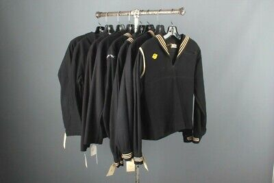 1940s Men's Shirts, Sweaters, Vests Vtg Men's Lot of 8 WWII / Post WW2 Navy Uniform Shirts Mixed Tops USN 1940s $74.99 AT vintagedancer.com