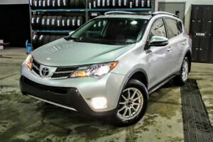 2014 Toyota RAV4 Limited AWD**Cuir**Navigation**Pneus d'Hiver**