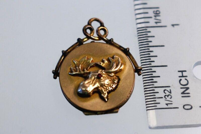 Vintage Loyal Order of Moose Locket S&B L Co