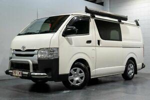 2018 Toyota HiAce KDH201R MY16 LWB White 5 Speed Manual Van