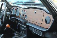 Miniature 15 Coche Americano de época Triumph TR-6 1976