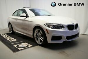 2016 BMW 228i xDrive Groupe M,Groupe premium essentiel. Low mill
