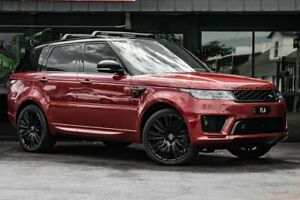 2018 Land Rover Range Rover Sport L494 18MY HSE Red 8 Speed Sports Automatic Wagon Bowen Hills Brisbane North East Preview