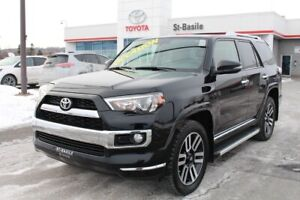 2016 Toyota 4Runner LIMITED CUIR TOIT MAGS GPS 7 PASSAGERS