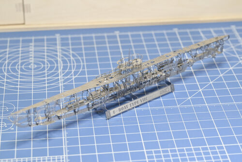 1/350 WWII U-Boat Type VIIC Full Structure PE DIY Model Kit Jasmine Model 205001