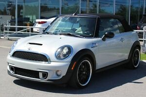 2012 MINI Cooper S*DECAPOTABLE*MAN*AC*BLUETOOTH*CRUISE*SIEGES CH
