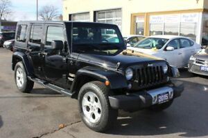 2015 Jeep Wrangler Sahara Leather Navi Loaded