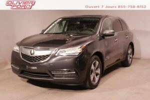 2014 Acura MDX 7 passagers; cuir; toit ouvrant
