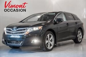 2014 Toyota Venza AWD+XLE+CUIR+TOIT PANORAMIQUE+SIEGES CHAUFFANT