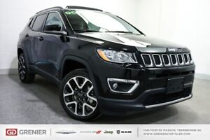 2018 Jeep Compass Limited+TOIT PANO+CUIR+4X4 Limited+TOIT PANO+C
