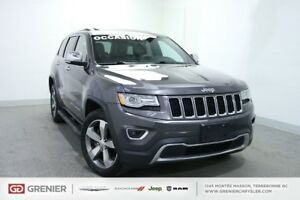 2015 Jeep Grand Cherokee LIMITED+TOIT+8 PNEUS+NAV+CUIR LIMITED+T