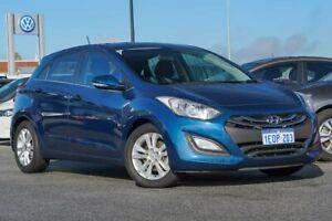 2013 Hyundai i30 GD MY14 Elite Blue 6 Speed Sports Automatic Hatchback