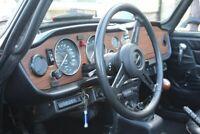 Miniature 14 Coche Americano de época Triumph TR-6 1976