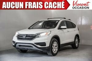 2015 Honda CR-V 2015+SE+AWD+CAMERA RECUL+SIEGES CHAUFFANTS NO AC