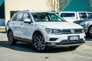 2018 Volkswagen Tiguan 5N MY18 110TSI DSG 2WD Comfortline White 6 Speed Sports Automatic Dual Clutch