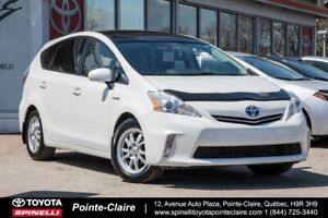 2012 Toyota Prius v TOURING MAGS, ROOF, LEATHER, GPS