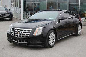 2013 Cadillac CTS 3.6L*COUPE*AC*CRUISE*CUIR*GR ELEC*SONAR