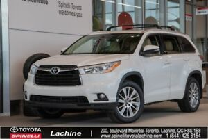 2016 Toyota Highlander XLE - AWD IMPECCABLE! GPS! HEATED SEATS!