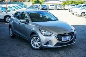 2017 Mazda 2 DJ2HAA Neo SKYACTIV-Drive Silver 6 Speed Sports Automatic Hatchback
