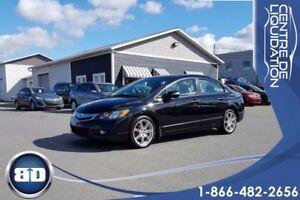 2009 Acura CSX CUIR A/C TOIT CRUISE SIÈGES CHAUFFANTS