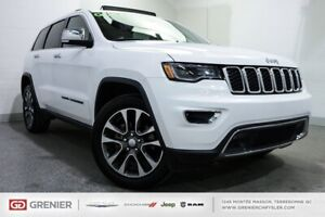 2018 Jeep Grand Cherokee Limited+TOIT PANO+CUIR Limited+TOIT PAN