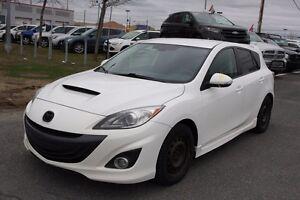 2011 Mazda Mazdaspeed3 MANUELLE - INT. CUIR ET TISSUS - BAS MILL